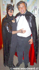 Catwoman and The Count